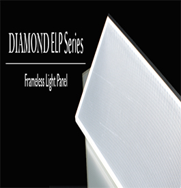 Diamond Frameless Edgelit Panel