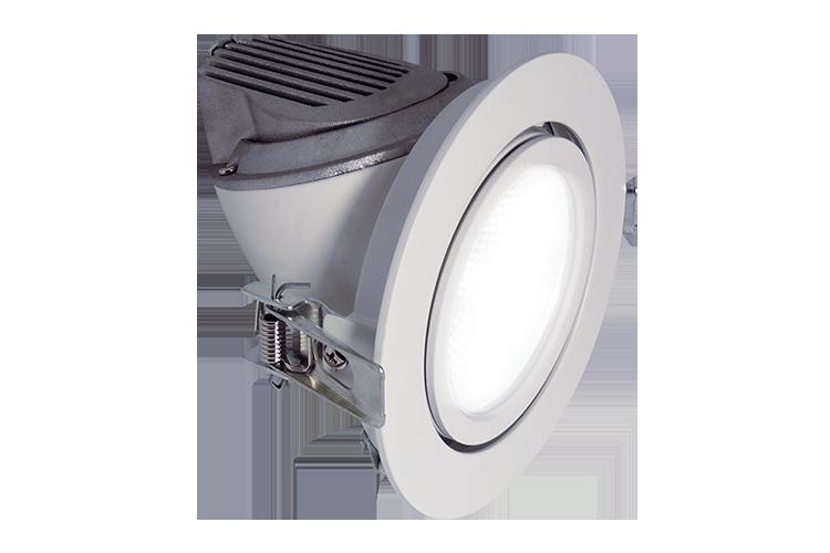 RD Series: RDA Adjustable LED Recessed Downlight