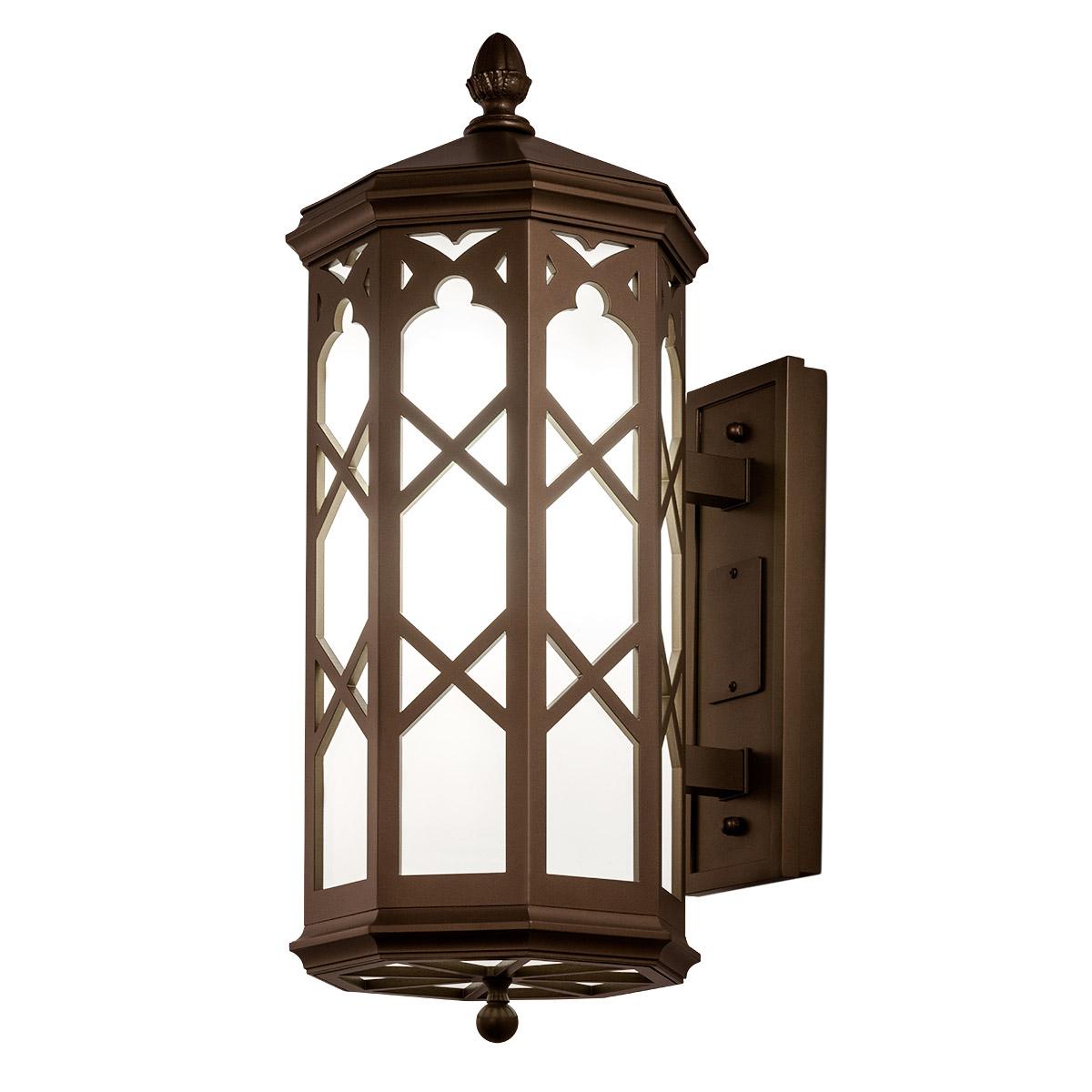 Exterior Bracket Lantern Sconce