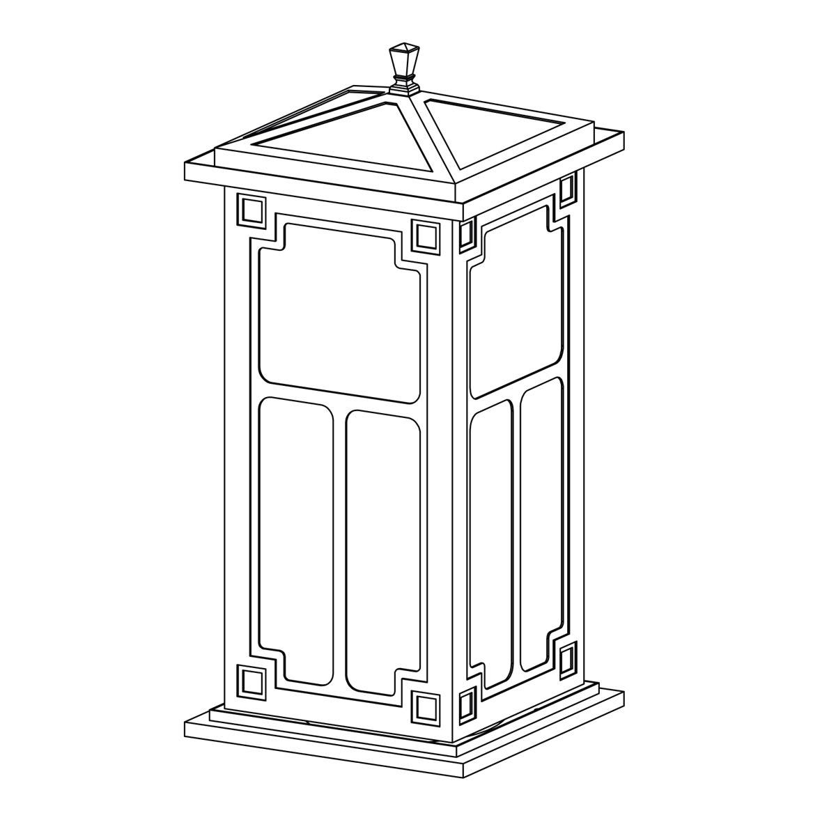 Exterior Post Lantern