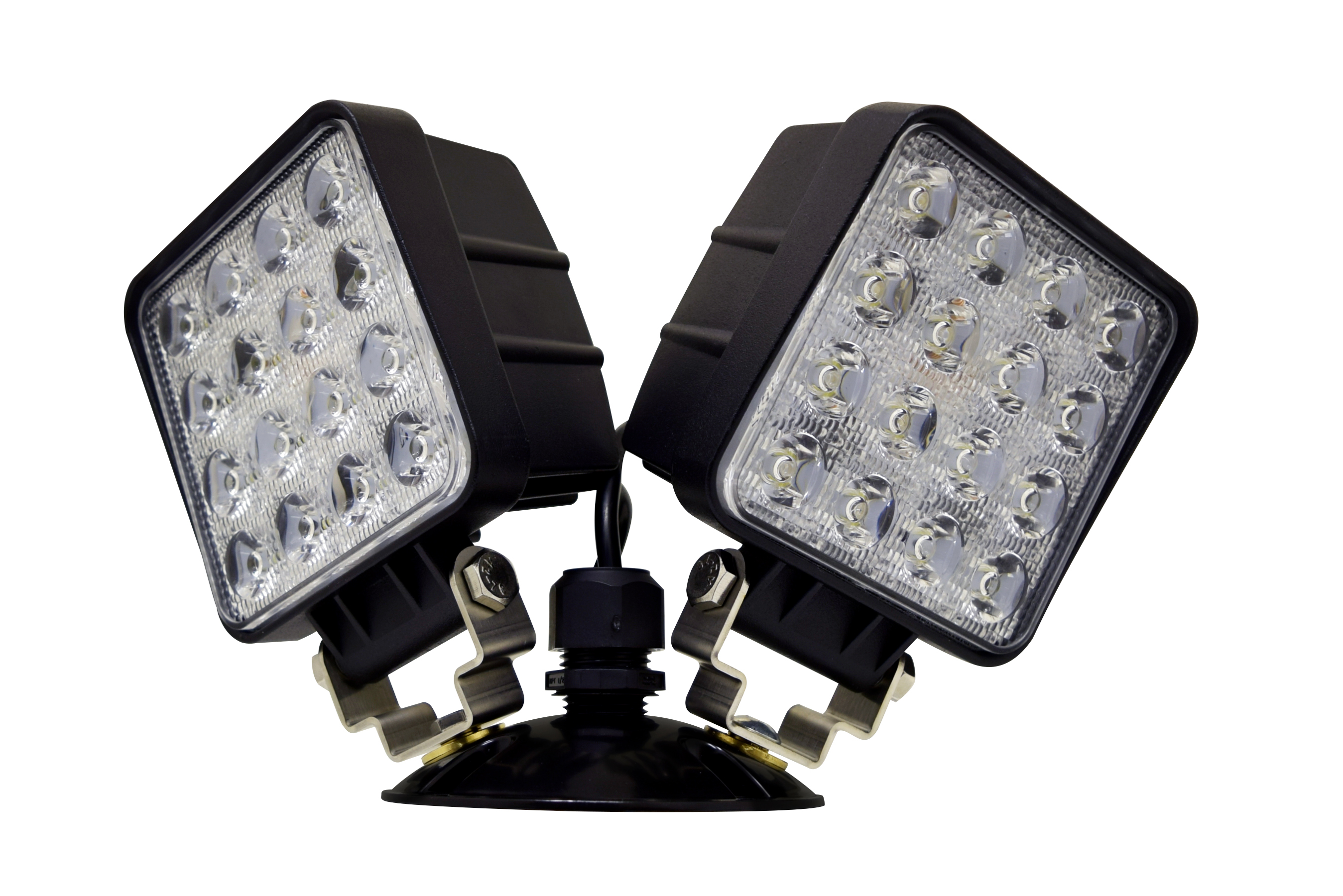 High output NEMA 4X LED remote head