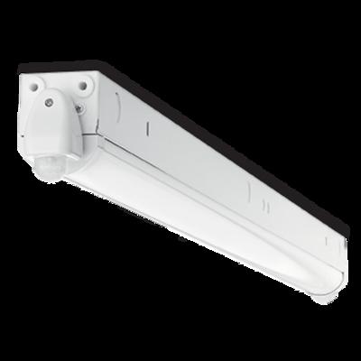 4 ft. 500K, 24W LED Batten Luminaire with Dual Motion Sensors