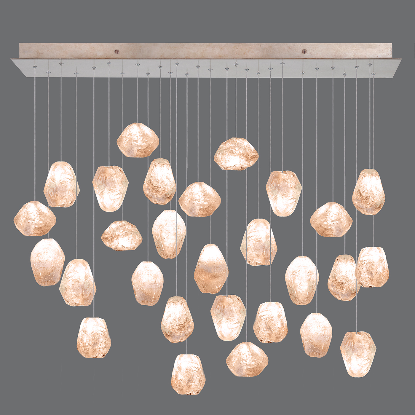 Natural Inspirations Linear 28 Light Pendant