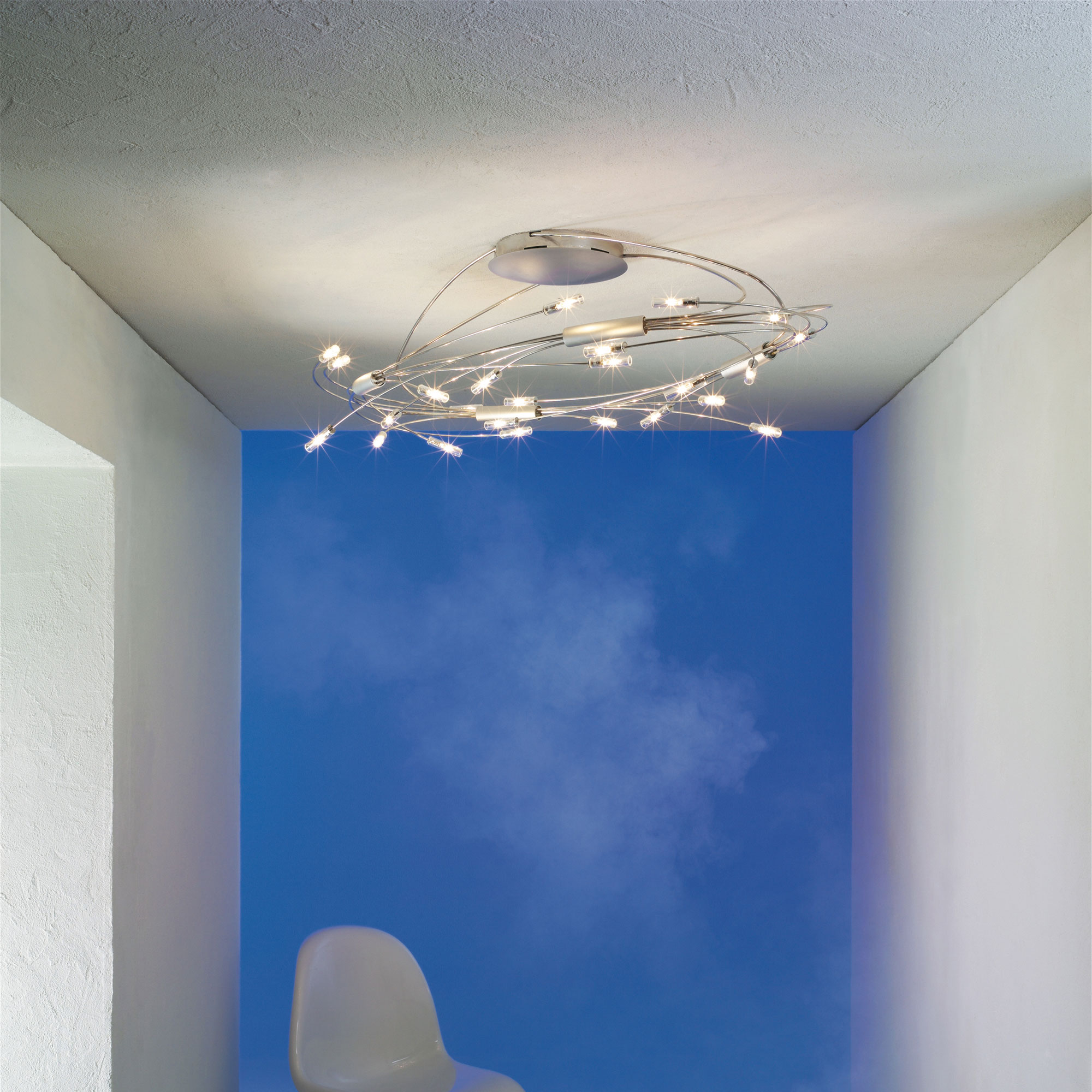 Spin 24 Light Ceiling Mount