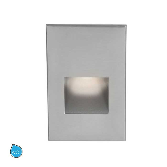 120V LED200 Marine Vertical Scoop Step  -  Wall Light