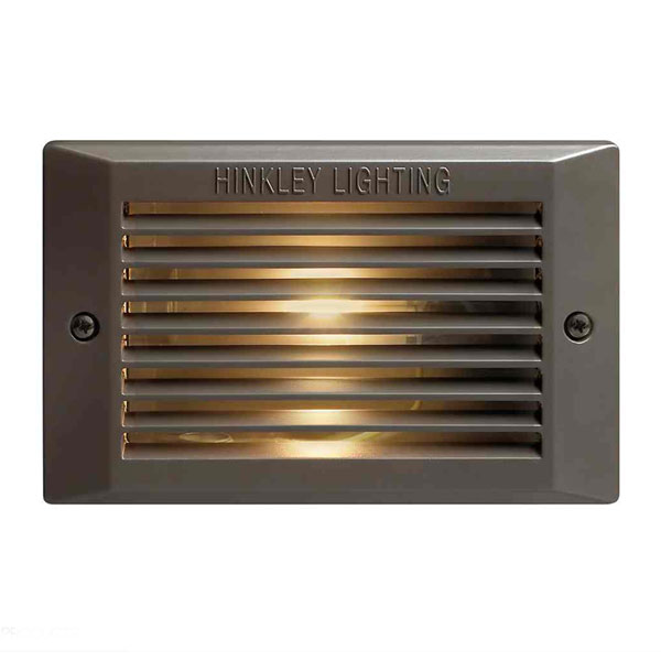 120V Louvered Step Light