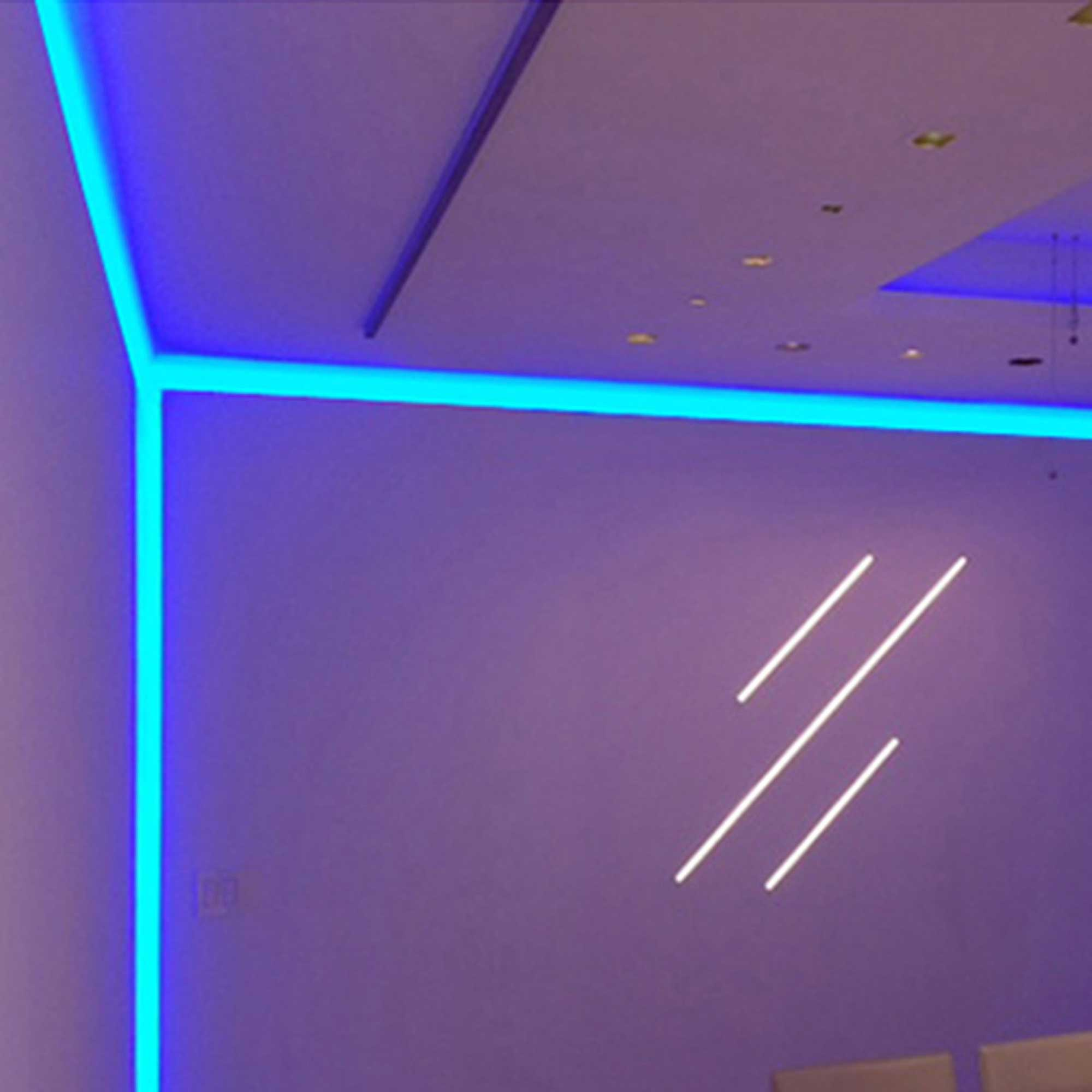 Reveal RGB Plaster-In LED System 5W 24VDC