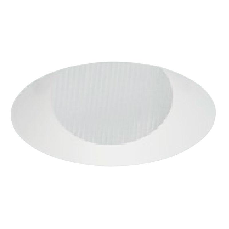 2 Inch Round Flangeless Lensed Wall Wash Trim
