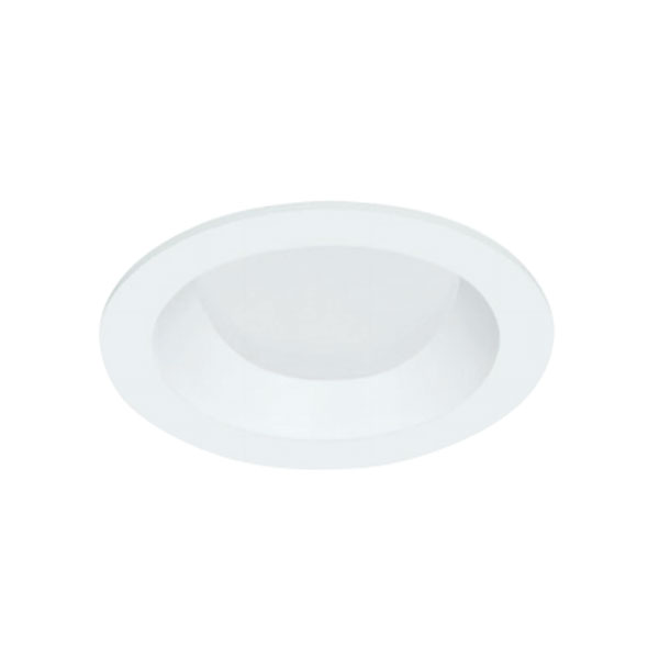 4 Inch Round Flanged Lensed Wall Wash Trim
