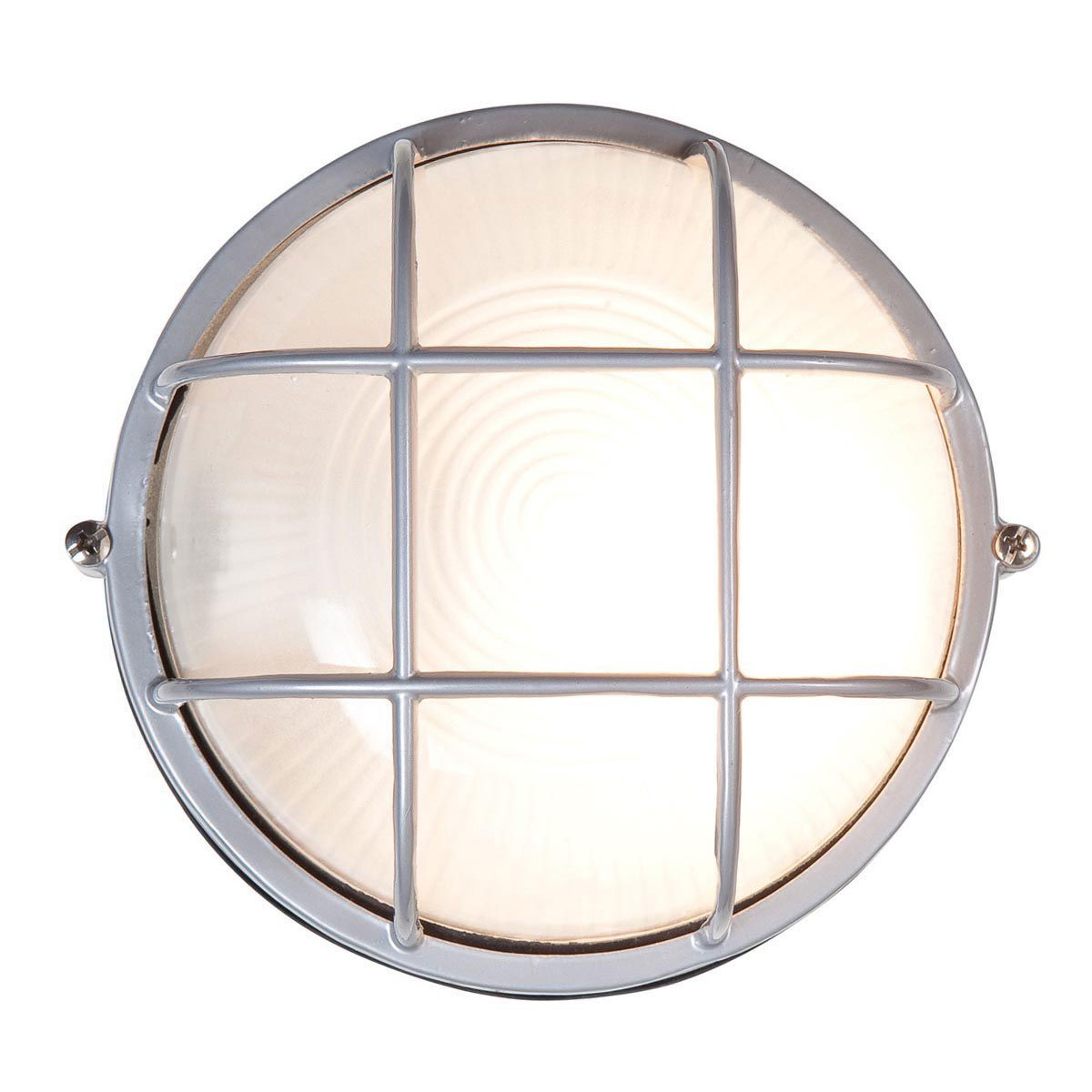 Nauticus Round Outdoor Bulkhead Wall  -  Ceiling Light