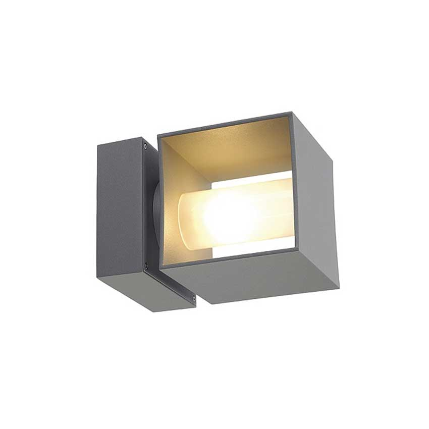 Square Turn Outdoor Wall Sconce