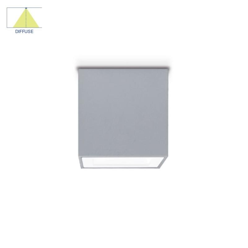 Mini One Downlight - Sandblasted Glass