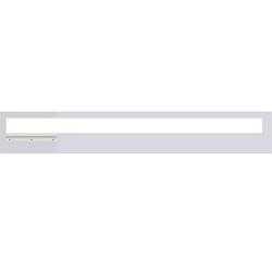 Verge Door Frame, 24VDC Plaster-In LED System