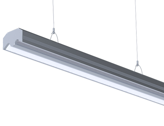 Solais isL Aisle Lighter Fixture | Surface Mount or Cable Hang