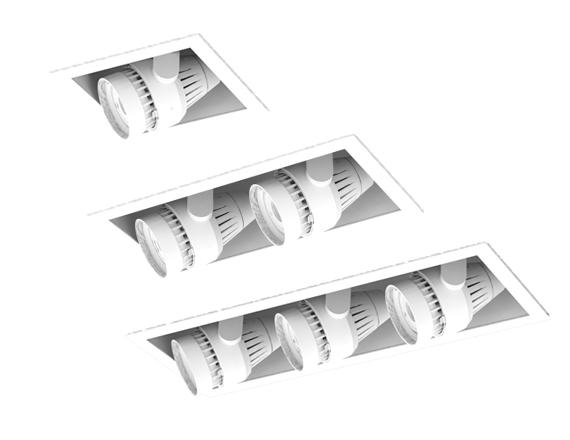 Solais Amerlux Retrofit XAR-Xm24 RMs | 1400 - 2400 Lumens  -  Head