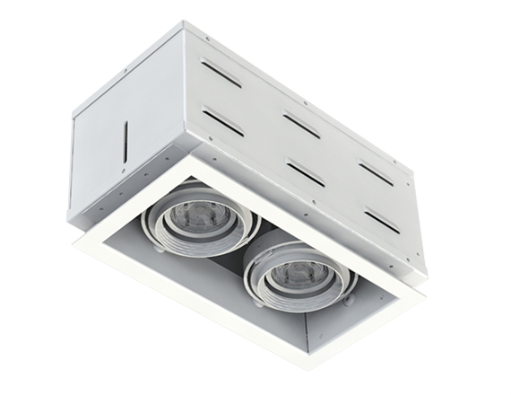 Solais XFR12  -  low to medium output | Integrated LED Fully Recessed Multiple
