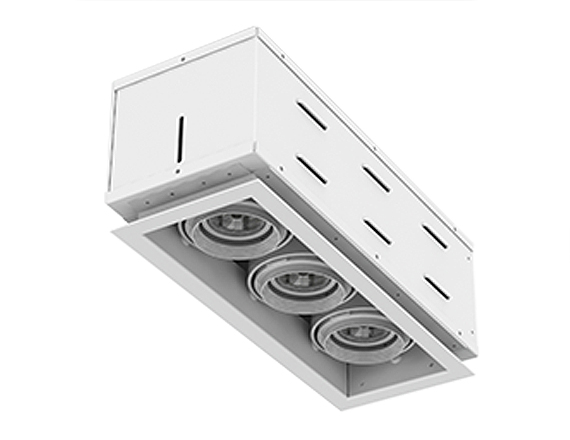 Solais XFR13  -  low to medium output | Integrated LED Fully Recessed Multiple