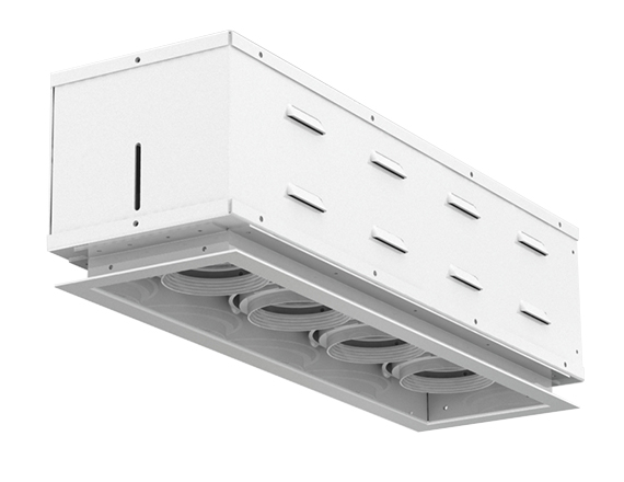 Solais XFR14  -  low to medium output | Integrated LED Fully Recessed Multiple