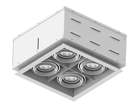 Solais XFR22  -  low to medium output | Integrated LED Fully Recessed Multiple