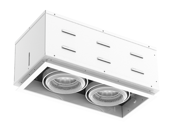 Solais XFR12-30  -  Super high output | Integrated LED Fully Recessed Multiple