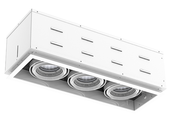 Solais XFR13-30  -  Super high output | Integrated LED Fully Recessed Multiple
