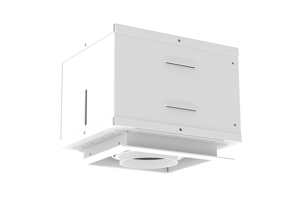 Solais XSR11  -  low to medium output | Integrated LED Semi-Recessed Multiple