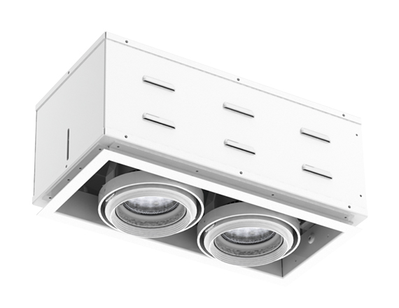 Solais XSR12-30  -  Super high output | Integrated LED Semi Recessed Multiple