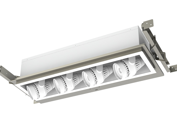 Solais Modular XAR14-Xm24 | 4-head Adjustable Recessed Multiple