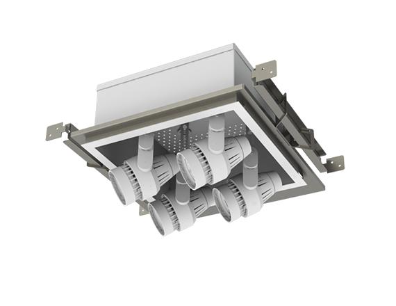Solais Modular XPD22-Xm24 | 2x2 4-head Pull-down Multiple
