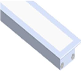 8FL Medium Square Flanged Extrusion