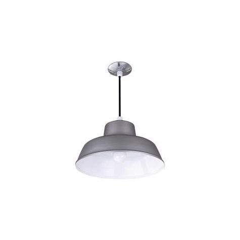 Grey Farm & Barn All Weather Warehouse Ceiling Light Fixture