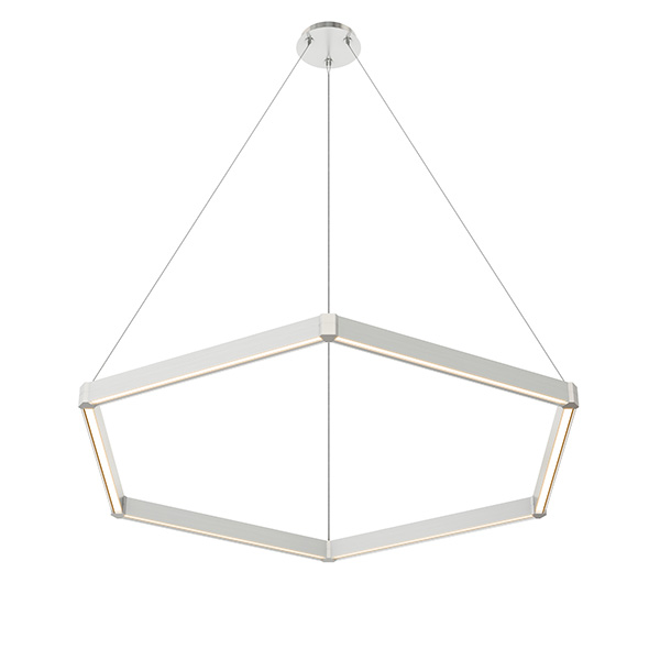 Nova Up - Down Miyo (Make It Your Own) Hexagon LED Suspension With Power