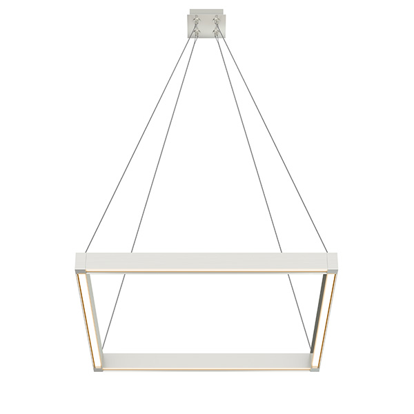 Nova Up - Down Miyo (Make It Your Own) Square Warm Dim LED Suspension With Power