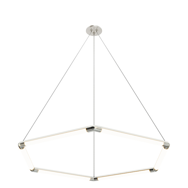 Pipeline 1 Miyo (Make It Your Own) Hexagon LED Suspension With Power