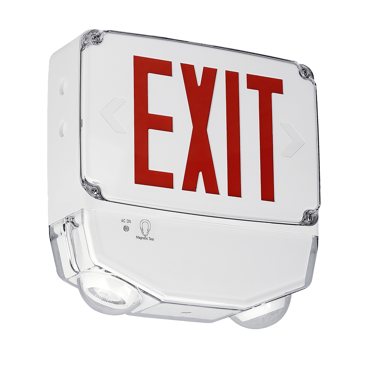 CWC - Wet Location Combination Exit - Emergency Light