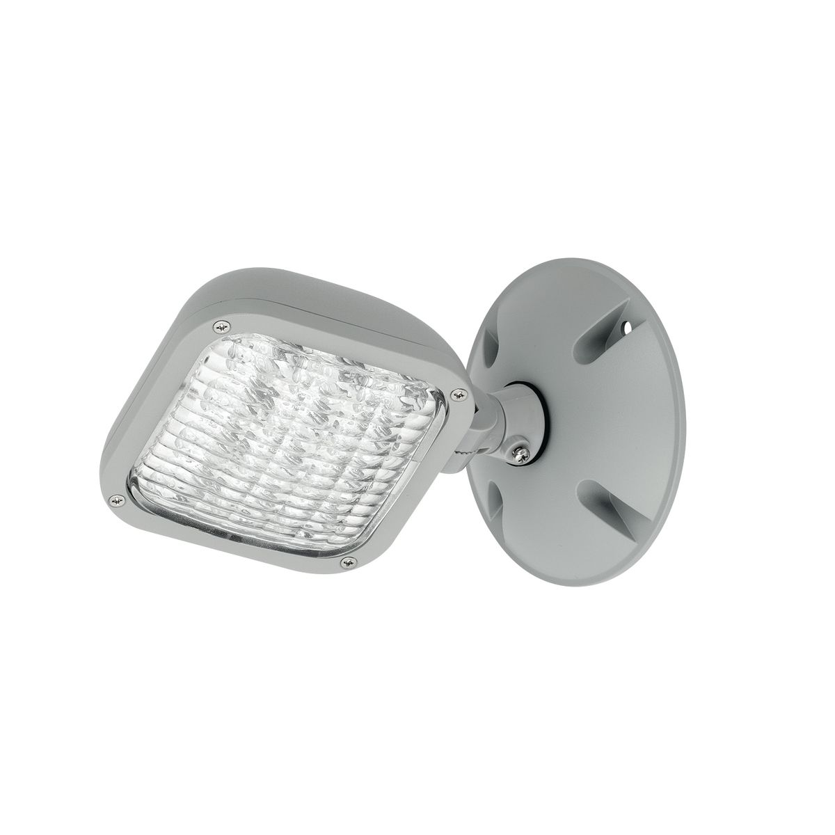 CWRS - The CWR single remote head offer quality and value with a compact and attractive LED based outdoor remote emergency light.