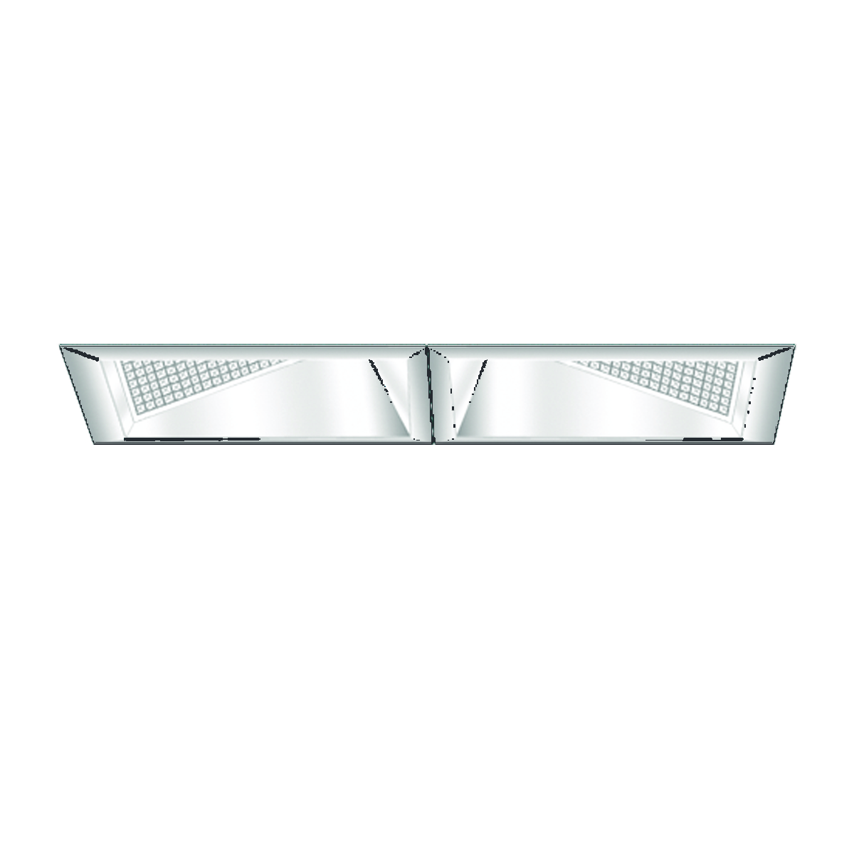 """4"""" x 9"""" Xicato LED Double Wall Wash with Lens"""
