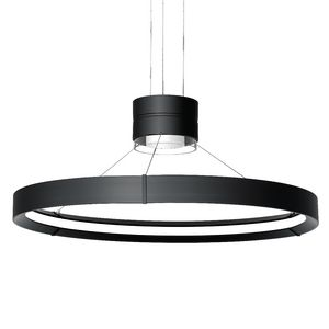 Inde-Pendant 32 LED Cylinder &a Ring Pendant Indirect - Direct