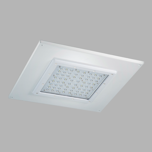 D533R Recessed Canopy Light