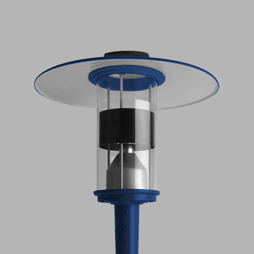 D814-LED Post Top Area Light