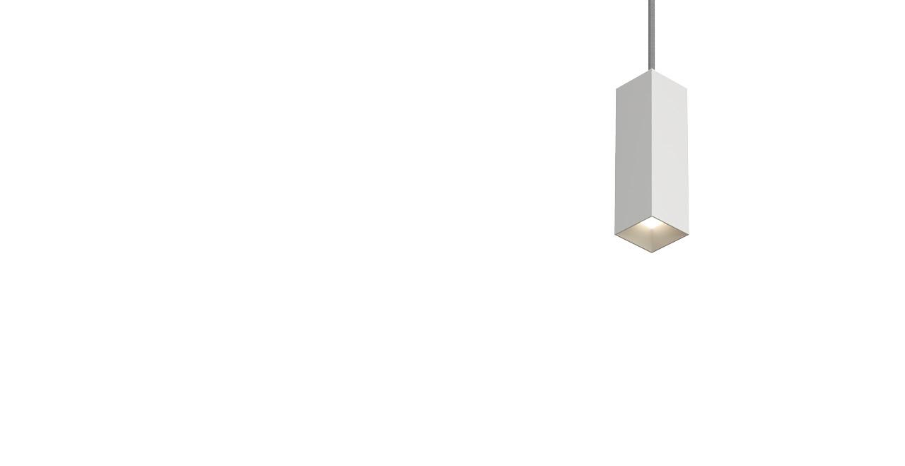 """3.5"""" MX G2 LED Square Downlight Pendant"""