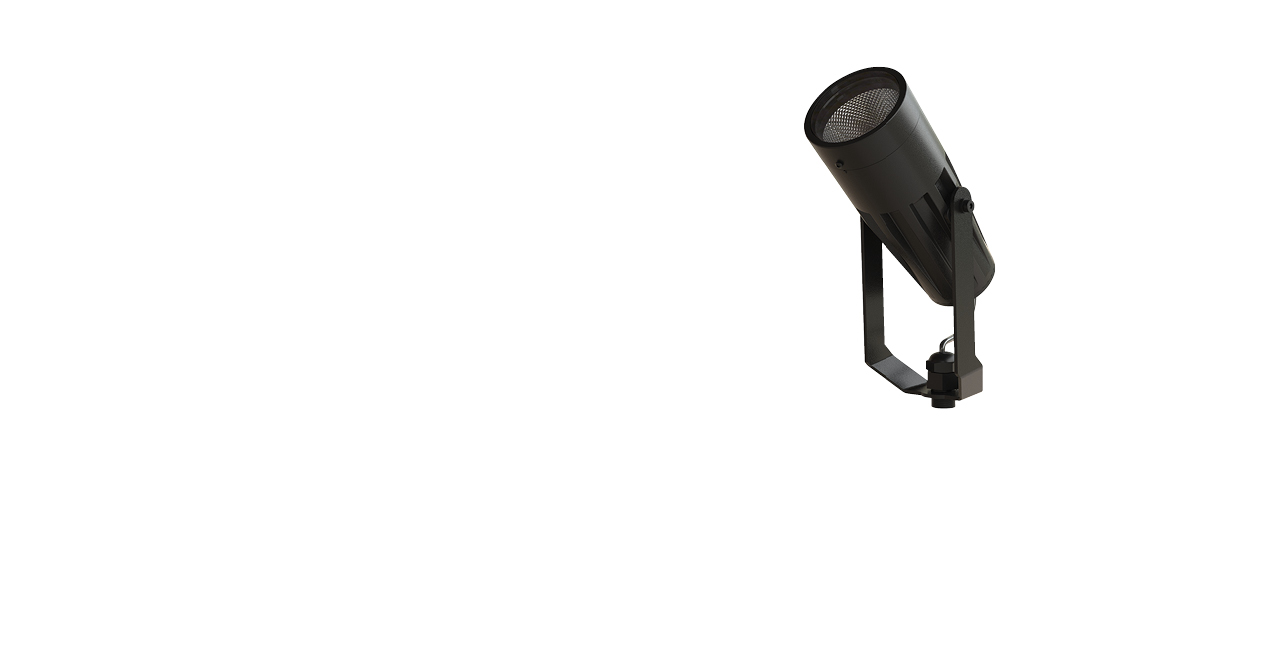 Rubicon™ Floodlight Bullet with Yoke Mount