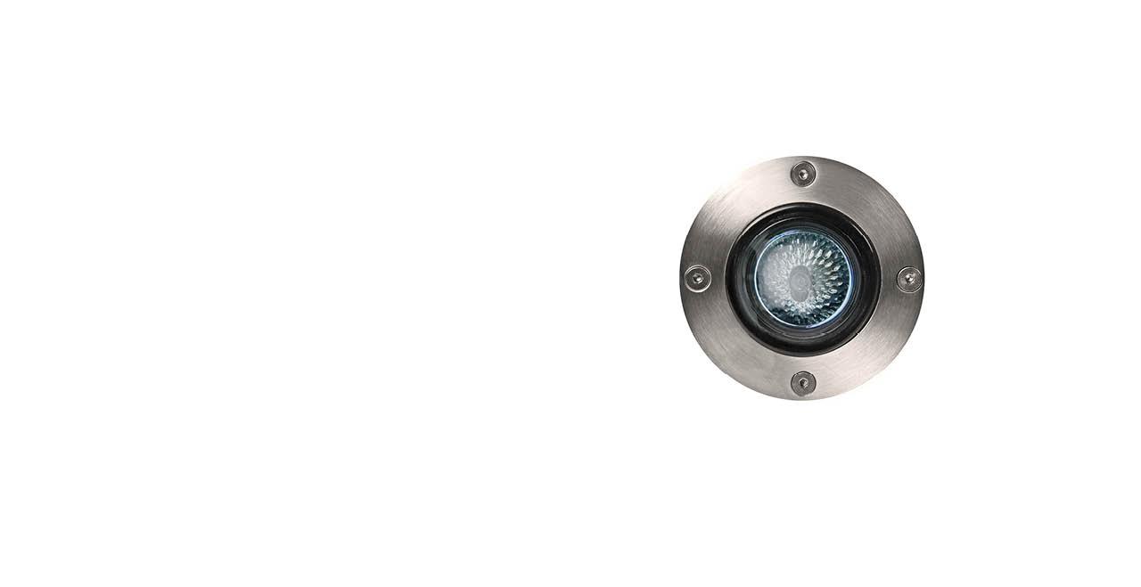 15° Adjustable Round In-Ground MR16 Low Voltage