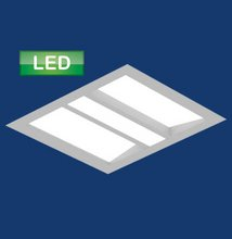 High Performance Recessed LED (HPR-LED): 1x1