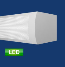 Series 17 LED VCF Vertical Curved Fasica