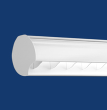 Series X2-O Oval Luminaire for Walls and Whiteboards