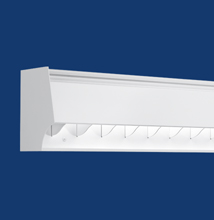 Series X2-R Rectilinear Luminaire for Walls and Whiteboards