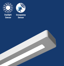 Series 18  High-performance, Rectilinear, Indirect - Direct Luminaire