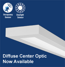 Series 16  High-performance, Rectilinear, Indirect - Direct Luminaire