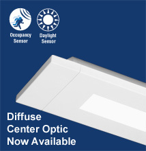 Series 14 Low-profile, Rectilinear, Indirect - Direct Luminaire